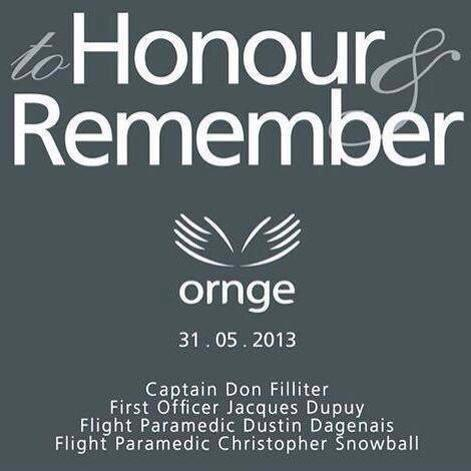 ORNGE Commemoriation